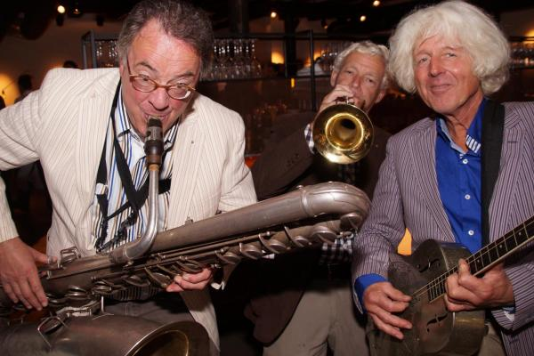 Trio Grande speelt traditionele jazz