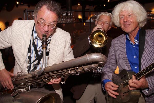 Trio Grande speelt traditionele jazz